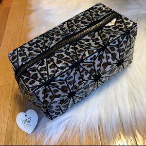 Imoshion Glitter Leopard Makeup Bag